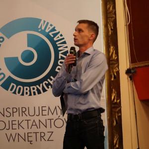 Marcin Waluga z firmy Niemann Polska. Fot. Katarzyna Zacharewicz-Łukaszuk