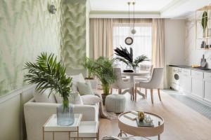 Wnętrze w stylu urban jungle - zobacz ciekawą realizację!