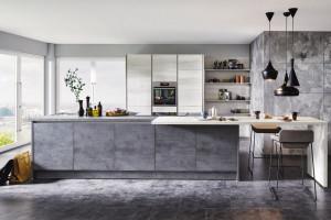 Trendy w meblarstwie: szare kuchnie nie tylko do loftu