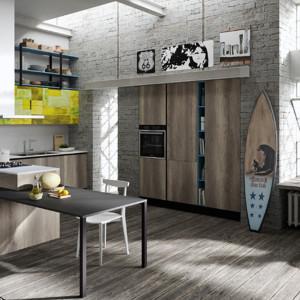 Kuchnia w stylu loft. Fot. Aran Cucine