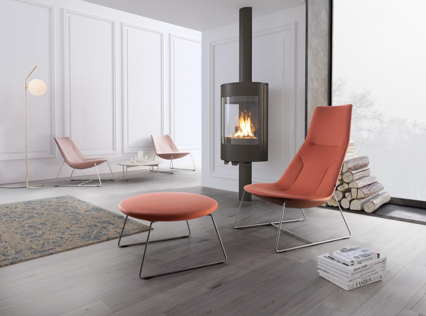 Chic Lounge - projekt Christophe Pillet dla Profim. Fot. Profim