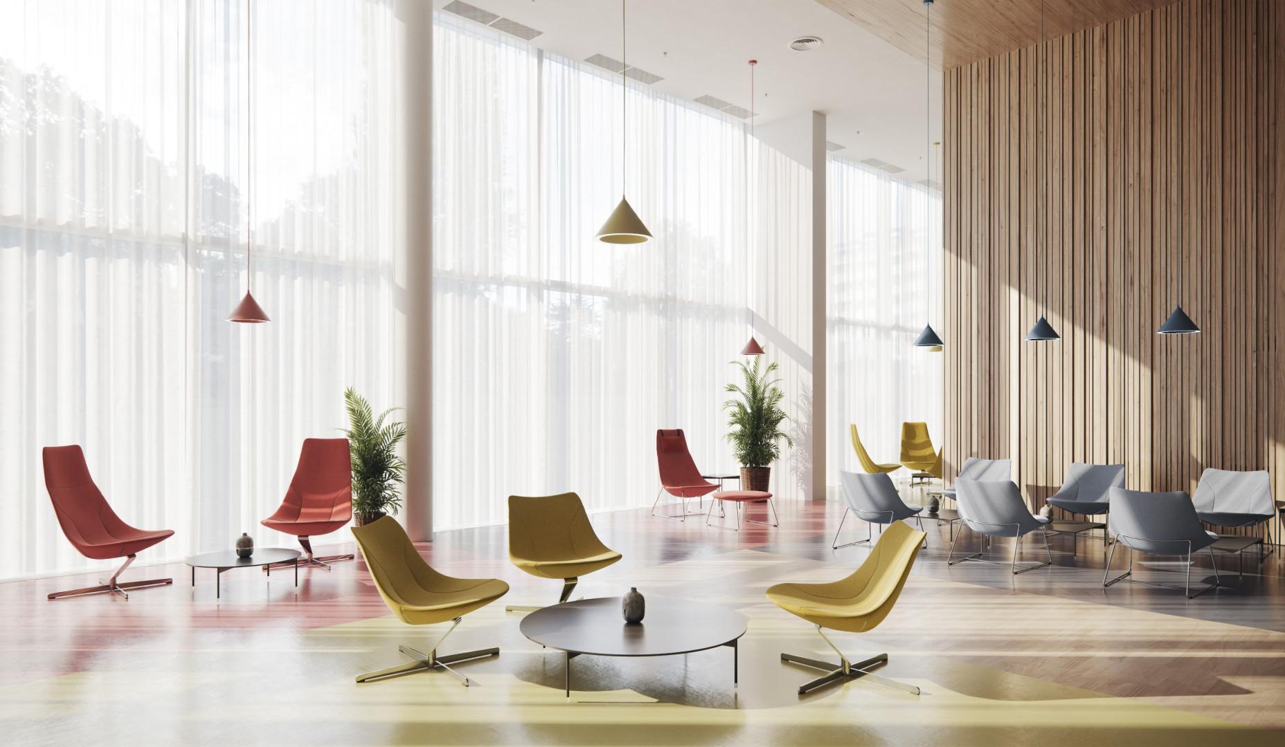 Kolekcja siedzisk Chic Lounge firmy Profim. Fot. Profim