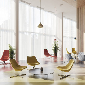 Chic Lounge - projekt: Christophe Pillet dla Profim. Fot. Profim
