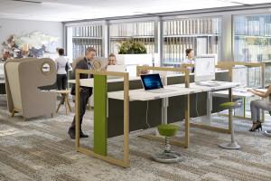 Zobacz, jak powinno wyglądać modne i funkcjonalne biuro - aktualne trendy