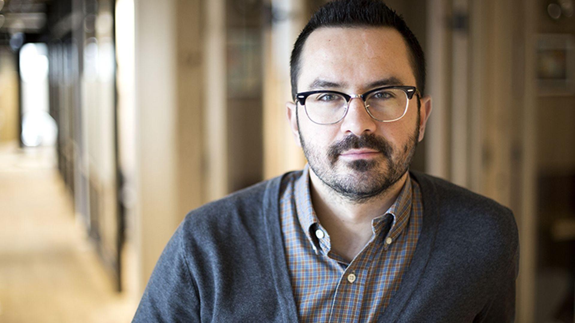 Michał Kwinta, reprezentujący sieć coworkingową Mindspace. Fot. Mindspace