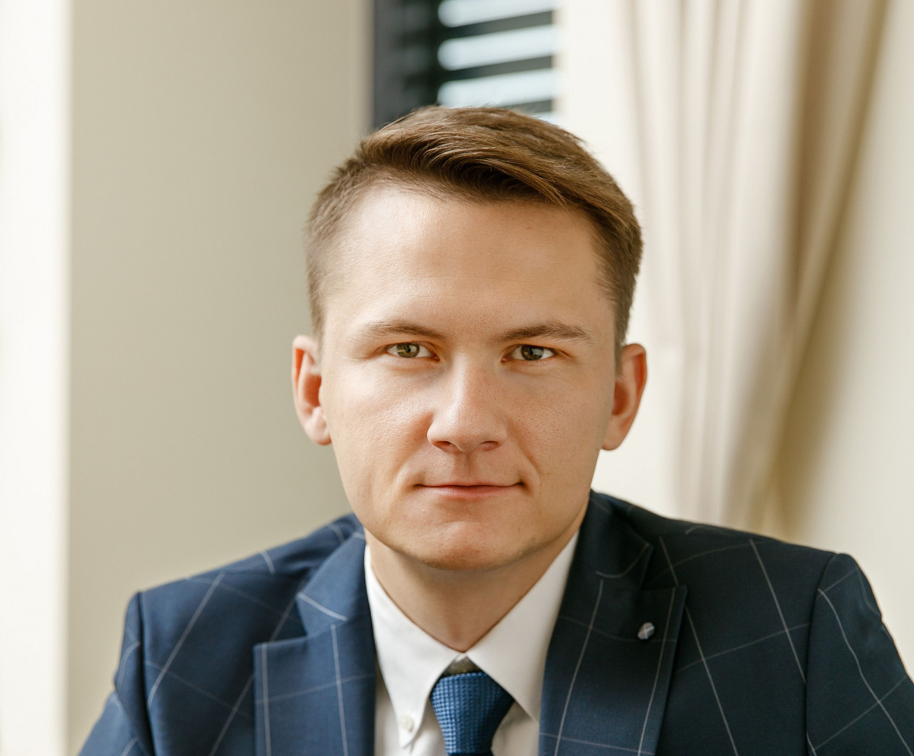Przemysław Szpojankowski, export manager w firmie GTV. Fot. GTV