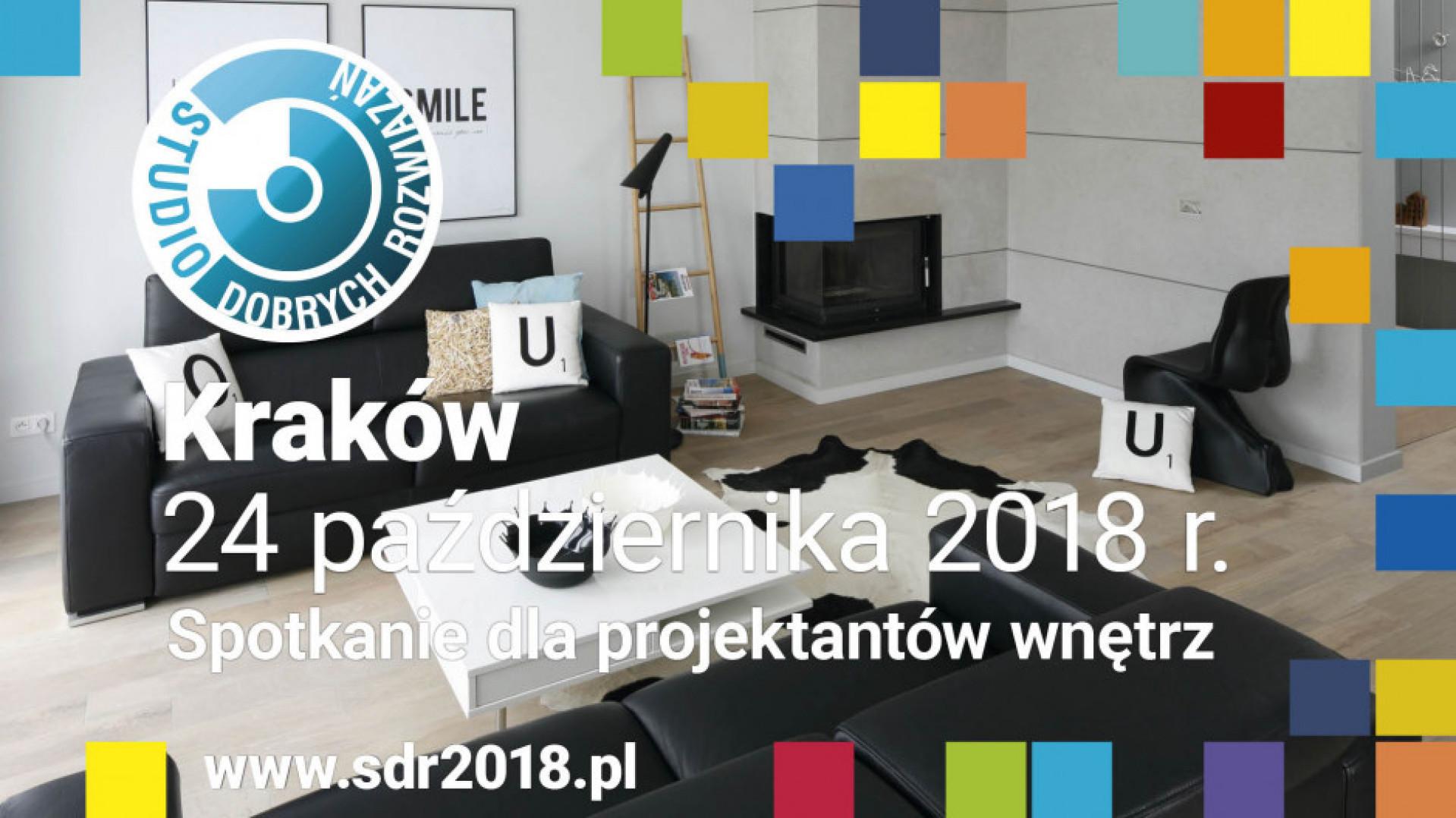 24 października Studio Dobrych Rozwiązań odbędzie się w Krakowie.