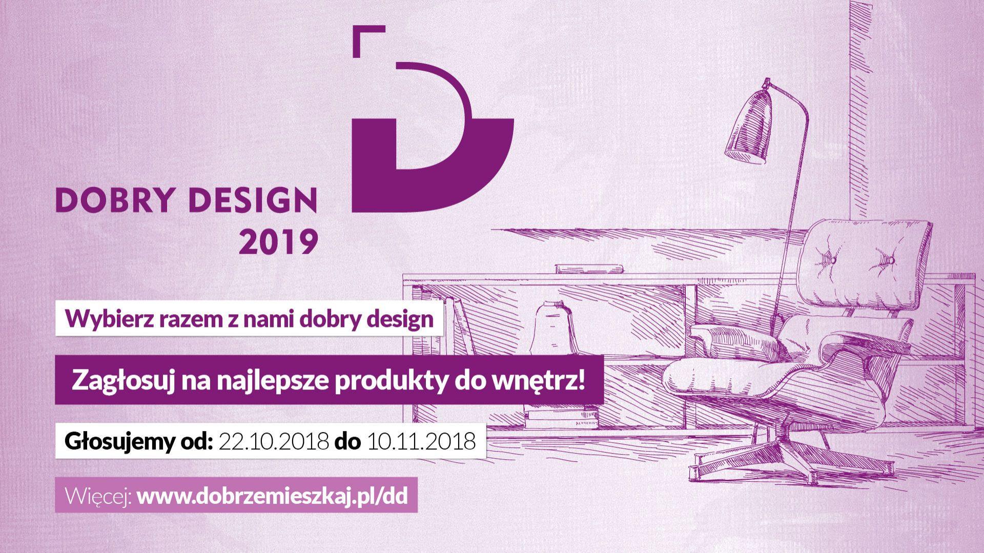 Ruszyło głosowanie internautów na produkty zgłoszone do konkursu Dobry Design 2019.