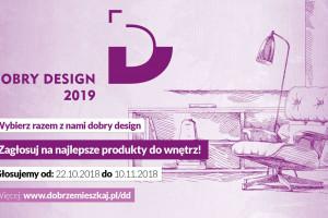 """Zagłosuj w konkursie """"Dobry Design""""! Właśnie ruszyło głosowanie internautów"""