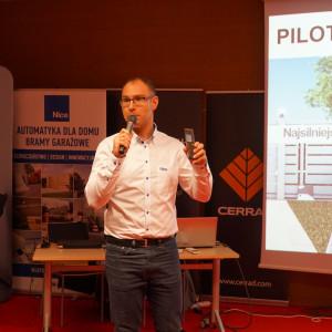 Wojciech Jankowski z firmy Nice.