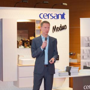 Konrad Zalewski z firmy Cersanit.