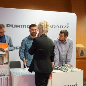Stoisko Partnera Głównego, firm Ceramika Paradyż i Purmo
