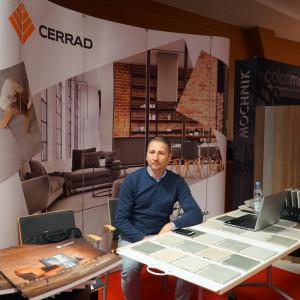 Stoisko partnera głównego, firmy Cerrad.