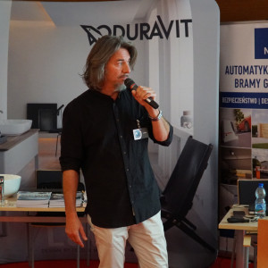 Jarosław Nowak z firmy Korner Design.