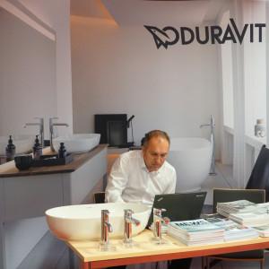 Stoisko firmy Duravit.