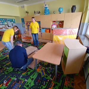 Modernizacja świetlicy szkolnej w Białymstoku. Fot. Forte