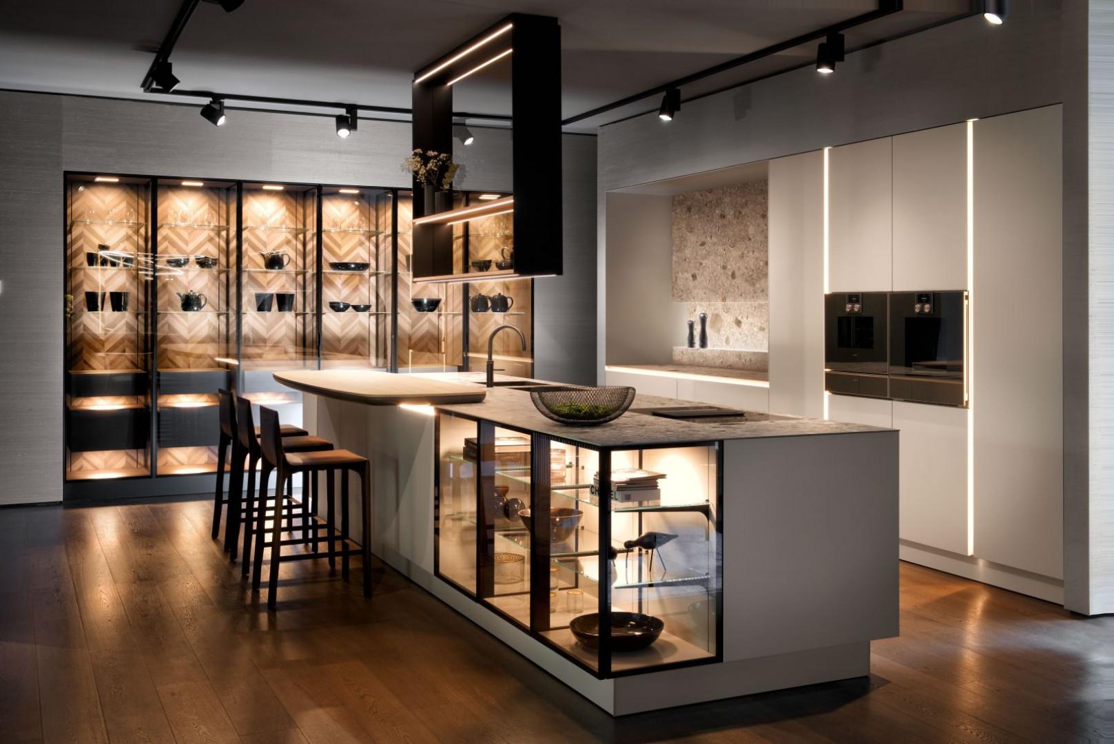 Nowa koncepcja mebli kuchennych - New Handle-Free SieMatic. Fot. SieMatic