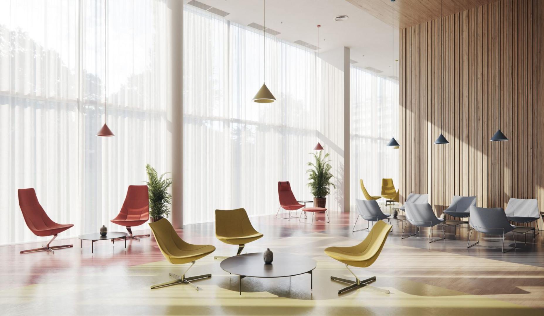 Kolekcja Chic Lounge firmy Profim. Projekt: Christophe Pillet. Fot. Profim
