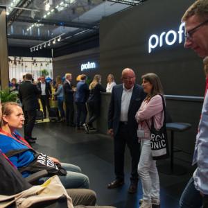 Stoisko Profim na targach Orgatec 2018. Fot. Profim