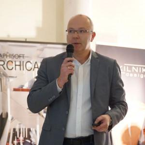 Tomasz Paszkowski z firmy Mirad.
