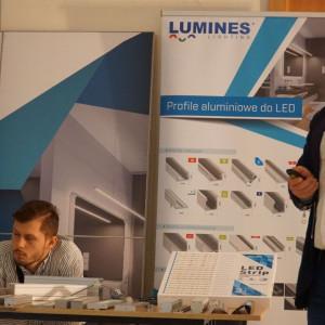 Łukasz Gąsiorek z firmy Lumines Lighting.