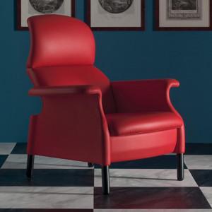 Fotel Sanluca marki Poltrona Frau. Fot. Studio Forma 96