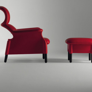 Fotel Sanluca, Poltrona Frau. Fot. Studio Forma 96