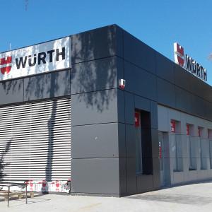 Sklep firmowy Würth w Toruniu