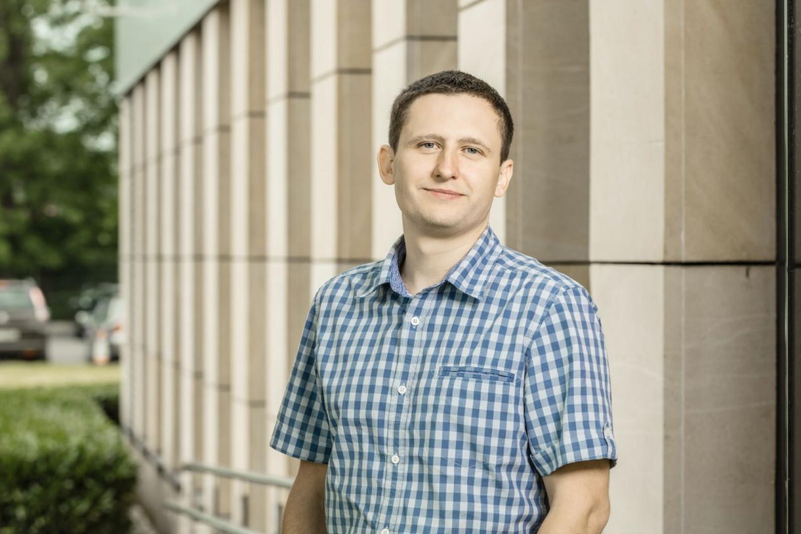 Maciej Bagan, product manager w firmie GTV. Fot. GTV