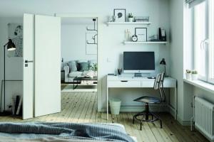 Urządzamy domowe biuro w małym mieszkaniu