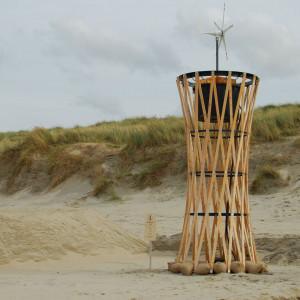 Wieża ciśnień. Projekt: Rick Tegelaar i Arno Geesink.