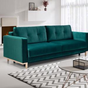 Zielona sofa Nelly. Fot. Salony Agata