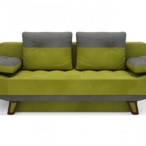 Oliwkowa sofa Cleo. Fot. Salony Agata
