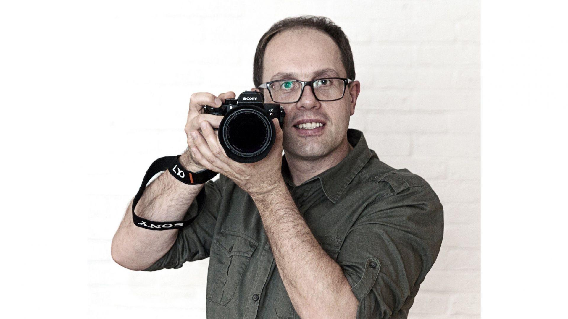 Artur Krupa, założyciel agencji fotograficznej Mirage.
