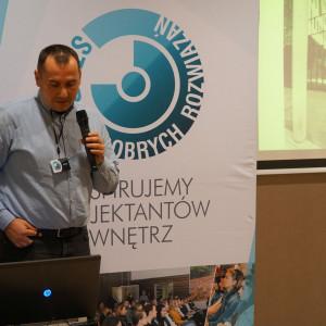 Robert Czemerzyński z rzeszowskiej firmy Prokomp, reprezentującej Archicad