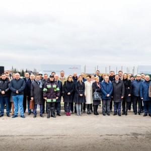 Wmurowanie kamienia węgielnego pod budowę Centrum Dystrybucyjnego – nowej inwestycji firmy Meble Wójcik.
