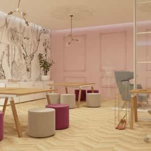 Tak wygląda miejsce pracy kreatywnej w biurze – według Mikomax Smart Office. Fot. Mikomax