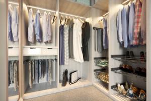 Funkcjonalny system organizacji garderoby