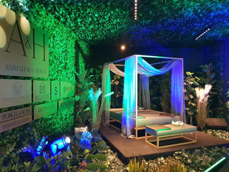 Łóżko outdoorowe Monako marki Ammadora&Heban. Fot. Ammadora&Heban