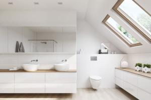 Białe meble łazienkowe - trend, który nie przemija