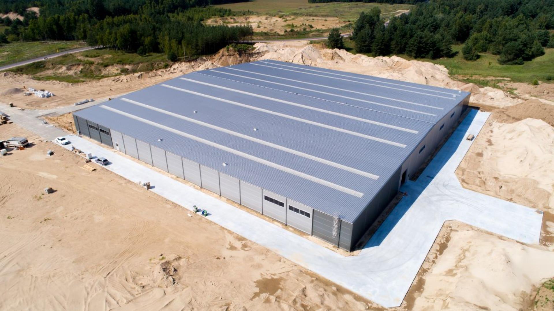 Najnowsza inwestycja firmy Libro zlokalizowana jest w miejscowości Nielbark. Fot. Libro