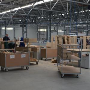 Zakład w Nielbarku pozwoli zwiększyć moce produkcyjne o 30 proc. Fot. Libro