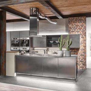 Zabudowa kuchenna w stylu loftowym. Na zdjęciu: kolekcja