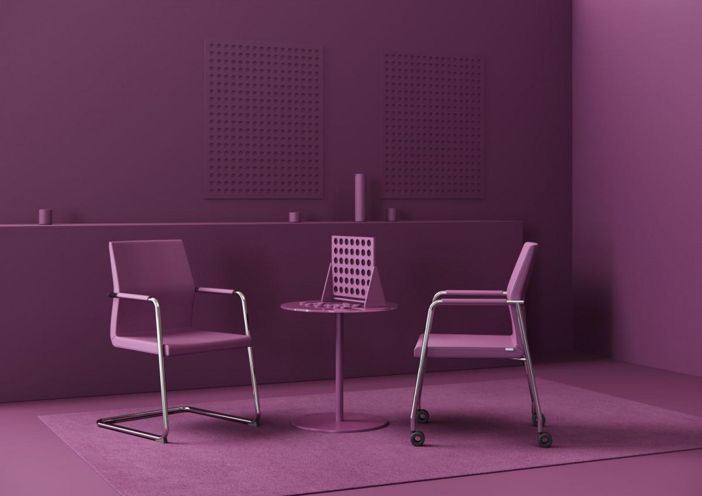 Krzesła z kolekcji AcosPro firmy Profim. Fot. Profim