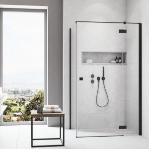 NAGRODA GŁÓWNA ex aequo kabina prysznicowa Essenza New KDJ Black Radaway. Kategoria Przestrzeń Łazienki