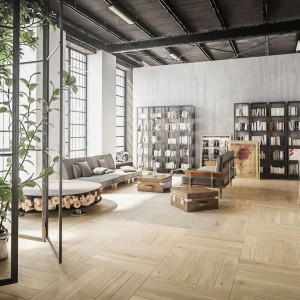 FertigDeska Design Experience Maxi Jawor-Parkiet. Wyróżnienie w kategorii Podłogi i Ściany