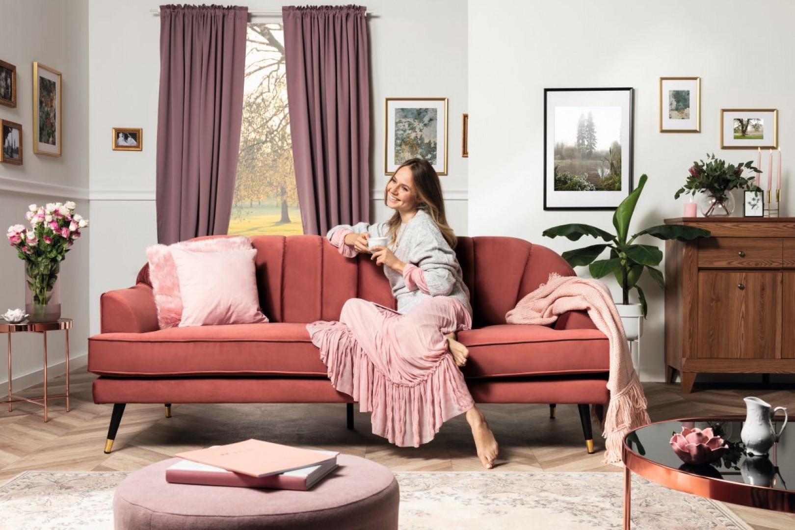 Sofa Lisera firmy Black Red White. Fot. Black Red White
