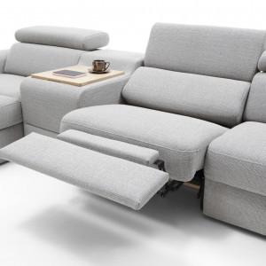 Sofa Plaza z funkcją relaksu. Fot. Gala Collezione