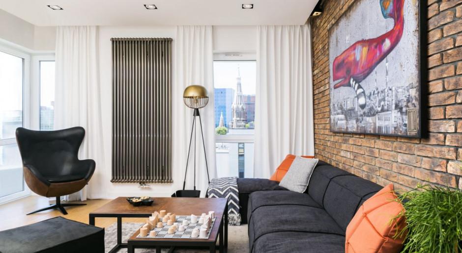 Mieszkanie dla singla w stylu loftowym - zobaczcie niebanalną realizację