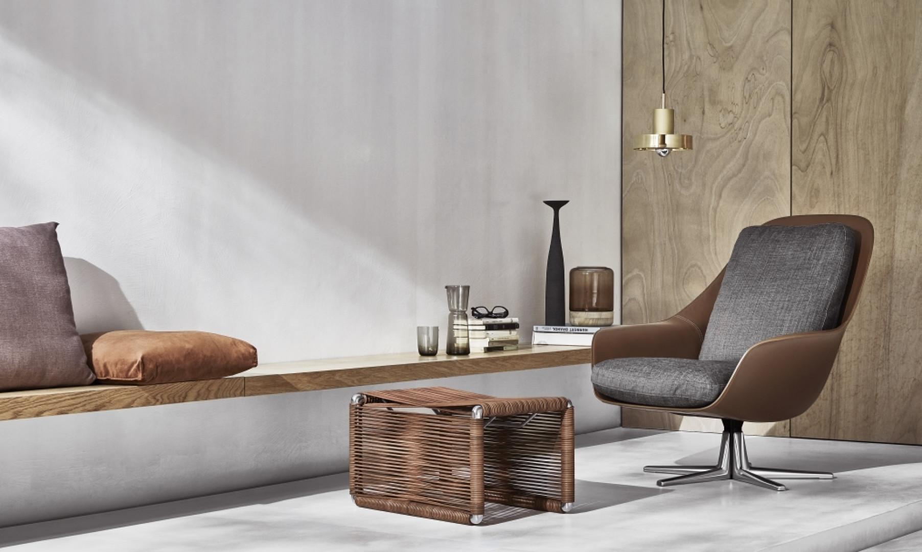 Fotel Sveva firmy Flexform. Projekt: Carlo Colombo. Fot. Flexform